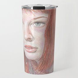 Leeloo - the Fifth Element Travel Mug