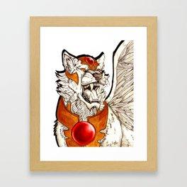 Kerberos Framed Art Print