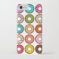 donuts iPhone & iPod Cases featuring Donuts by TinyBee