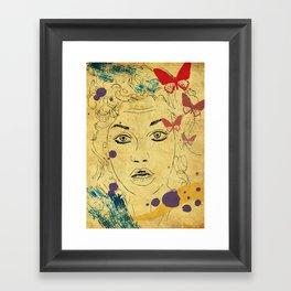 Shocked! Framed Art Print