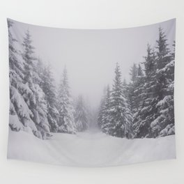 Winter walk - Landscape and Nature Photography Wall Tapestry
