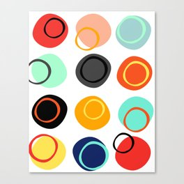 Color Drop Canvas Print