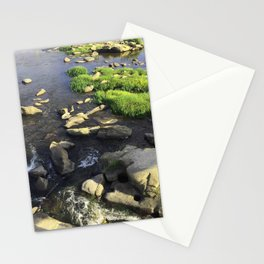 Rocks in the James Stationery Cards