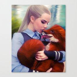 Judy Hopps & Nick Wilde Canvas Print