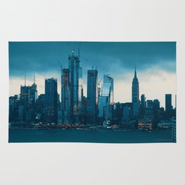 New York City Cityscape (Color) Rug