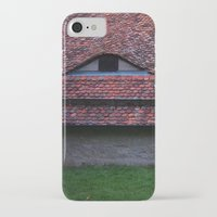 medieval iPhone & iPod Cases featuring Medieval Roof by Rainer Steinke