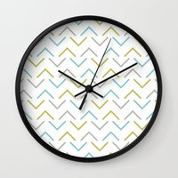 arrow Wall Clocks featuring Arrow by C Designz