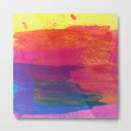 Abstract No. 394 Metal Print