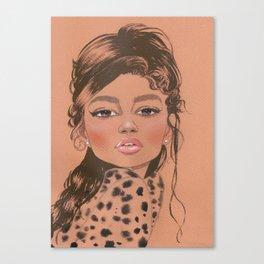 Magazine cover Z Canvas Print