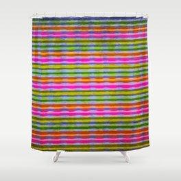 Fruit stripes Shower Curtain