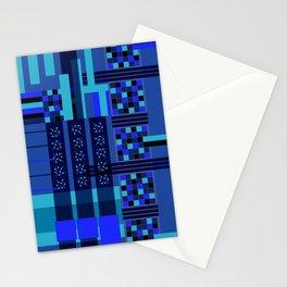 Movimiento de cuadritos azules · Glojag Stationery Cards