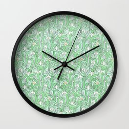 The disturbance of the spring 2 Wall Clock