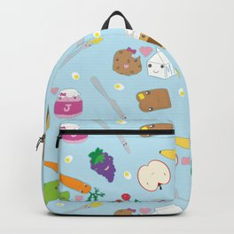 Kawaii Happy Snacks Toss Backpack