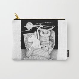 The Owl and the Pussycat Carry-All Pouch