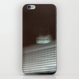 On the move through Moscow, white house iPhone Skin