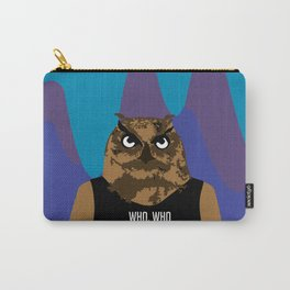 Hoot, Hoot, Who? Carry-All Pouch