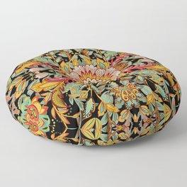 Mandala Fire Dance  Floor Pillow