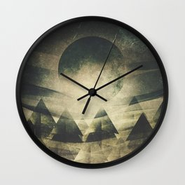 We are children of the moon Wall Clock