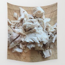 Shredded Chicken Wall Tapestry