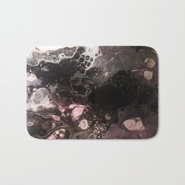 Purple smoke caverns Bath Mat