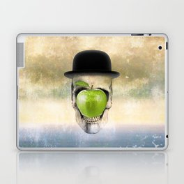 Magritte Skull Laptop & iPad Skin