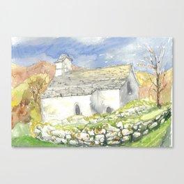 Casa rustica Canvas Print