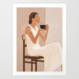 Brewed Tea Art Print