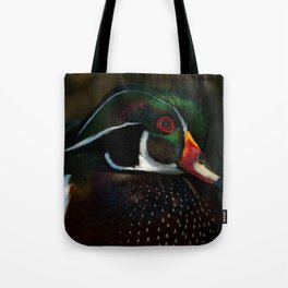Male Wood Duck | Art | Birds | North America |Wildlife Tote Bag