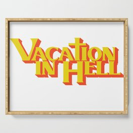 Vacation In Hell Flatbush Zombies Serving Tray