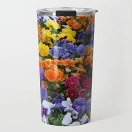 Pancy Flower 2 Travel Mug