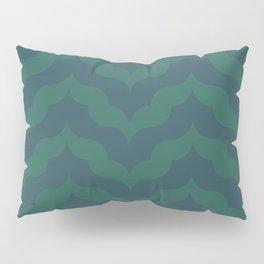 Juliet in Peacock Blue and Green Pillow Sham