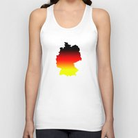 germany Tank Tops featuring Germany by Fabian Bross
