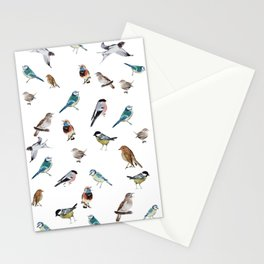 I love birds Stationery Cards