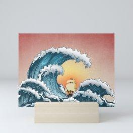 Sea Waves Mini Art Print