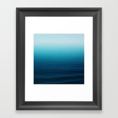 Deep Blue Sea Framed Art Print