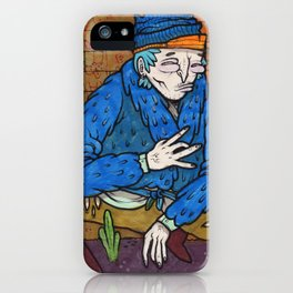 PIMPIN IN BLOOD ALLEY iPhone Case