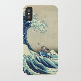 Katara Riding the Wave iPhone Case