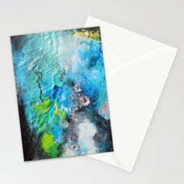 """"""" Magic / Silver """" (1) Stationery Cards"""