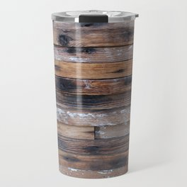 Wood Slats Travel Mug