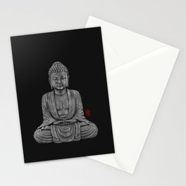 Buddha Lines Stationery Cards