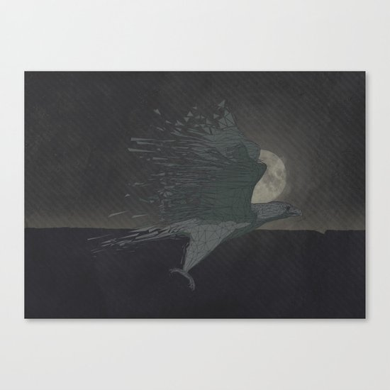 From chaos, comes order Canvas Print