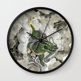 Dragon of The Mist Wall Clock