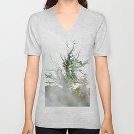 Where the sea sings to the trees - 1 Unisex V-Neck