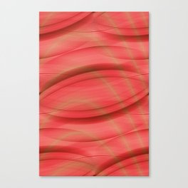 Pattern softorange Canvas Print