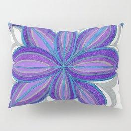 Bloom in Aqua & Purple Pillow Sham