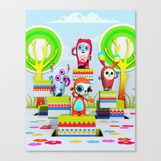 Pixy Wonderland Canvas Print