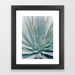Minimalist Agave Framed Art Print