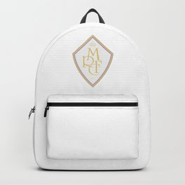Madrid Blanco Badge Backpack