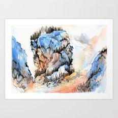 Mountscape Art Print