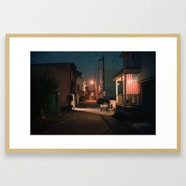 Coal Country, Pennsylvania Framed Art Print